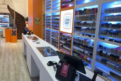 Dewy's E-Liquids Vaporshop Antwerpen